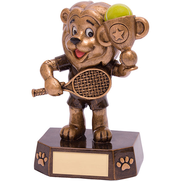 Personalised Engraved Braveheart Tennis Trophy Free Engraving