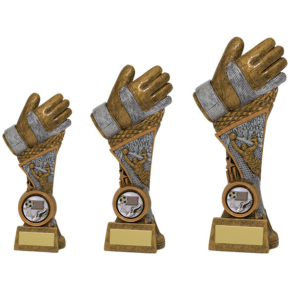 Personalised Engraved Century Football Goalkeeper Trophy 3 Sizes Available Free Engraving