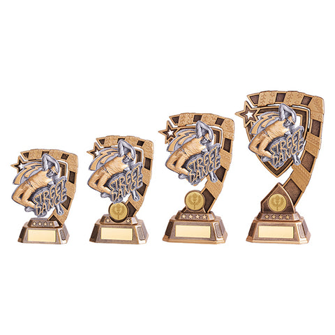 Personalised Engraved Euphoria Male Street Dance Trophy 4 Sizes Available Free Engraving
