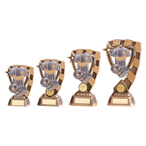 Personalised Engraved Euphoria Football Trophy 4 Sizes Available Free Engraving
