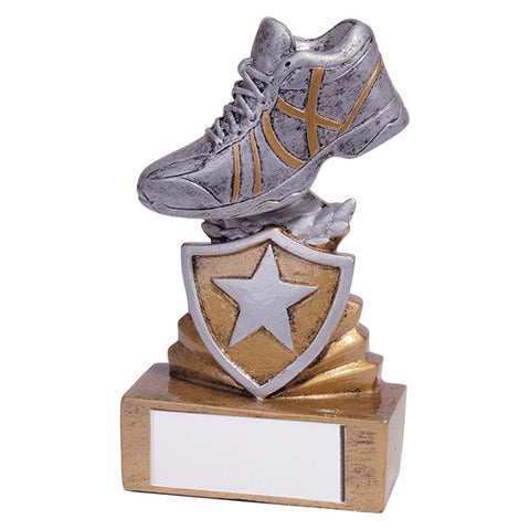 Personalised Engraved Shield Running Trophy Free Engraving