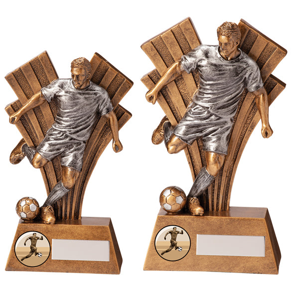 Personalised Engraved Xxplode Football Trophy 2 Sizes Available Free Engraving