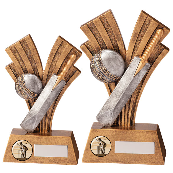 Personalised Engraved Xplode Cricket Trophy 2 Sizes Available Free Engraving