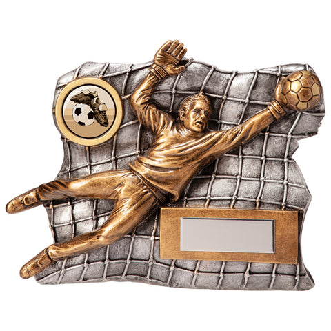 Personalised Engraved Advance Football Goalkeeper Trophy Free Engraving