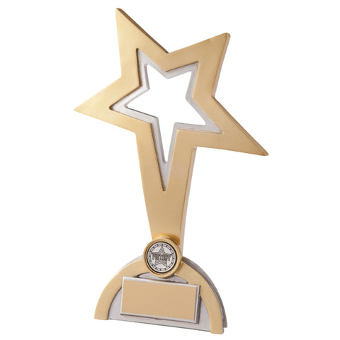 Personalised Engraved Classic Star Achievement Trophy Free Engraving