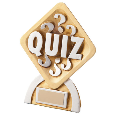 Quiz Resin Trophy