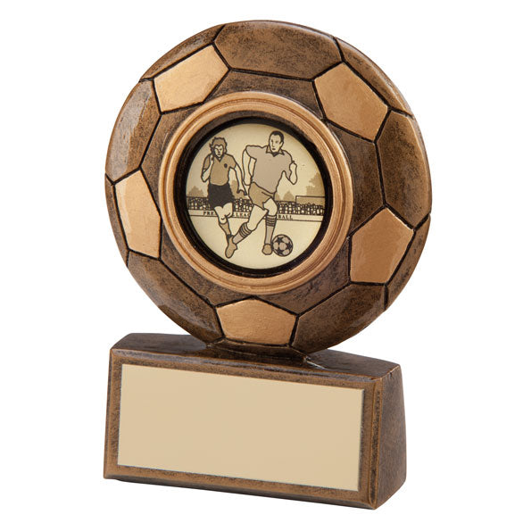 Personalised Engraved Technique Football Trophy Free Engraving