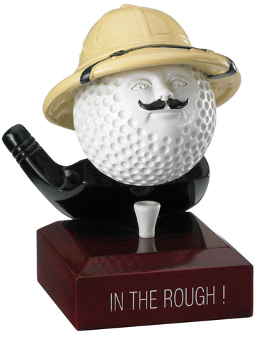 Personalised Engraved In The Rough Golf Trophy Free Engraving