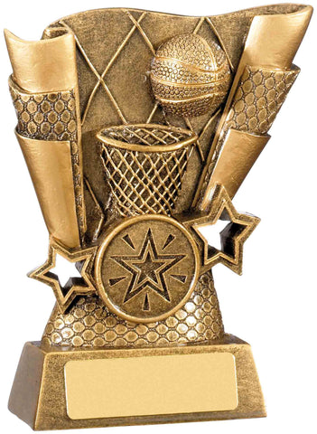 Personalised Engraved Resin Basketball Trophy 2 Sizes Available Free Engraving