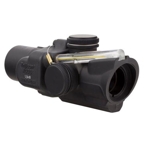 ACOG - 1.5x16S Compact Left Hand, Dual Illuminated Amber Ring