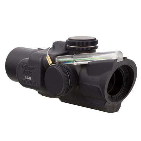 ACOG - 1.5x16S Compact Left Hand, Dual Illuminated Green Ring