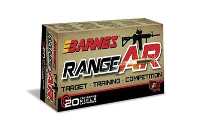 Barnes Range AR 300 AAC Blackout 90 Grain Weight 20 Round Box
