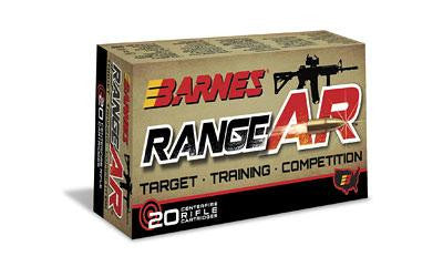 Barnes Range Ar 556nato 52 Grain Weight 20-200