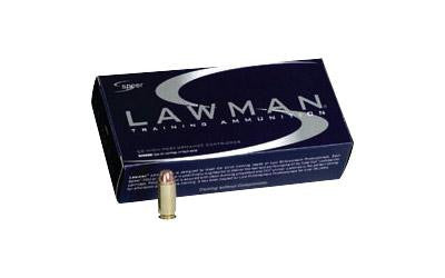 Spr Lawman 38spl+p 158 Grain Weight Tmj 50-1000