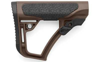 Collapsible Mil-spec AR Stock Brown