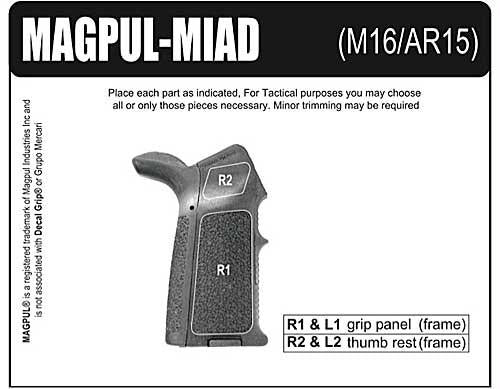 Decal Grp Magpul Miad Rbr