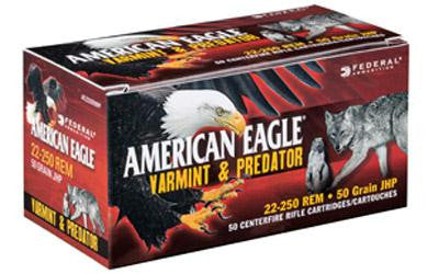 Fed Am Eagle V&p 22-250 50 Grain Weight 50-250
