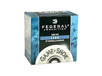 "Fed Game Load 16ga 2 3-4"" #6 25-250"