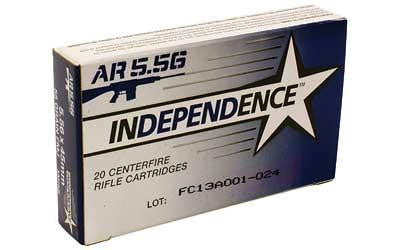 Fed Imi Xm193 5.56x45 55 Grain Weight Fmj 20-