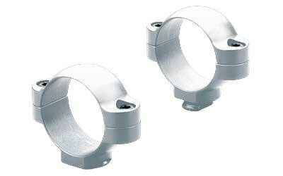 "Leup Std 1"" Rings Medium Silver"