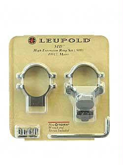 "Leup Std 1"" Ext Rings High Matte"