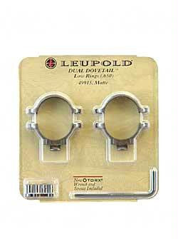 Leup Dd Rings Low Matte