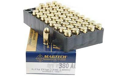 Magtech 380acp 95 Grain Weight Fmj 50-1000