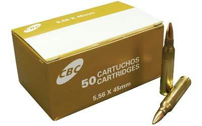 Magtech Cbc M193 556nato 55 Grain Weight Fmj 50