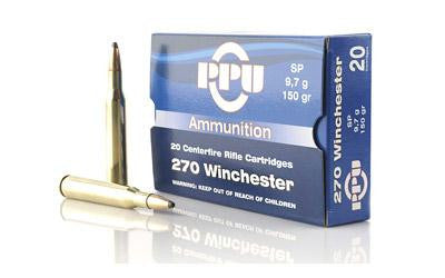 Ppu 270win Sp 150 Grain Weight 20-500