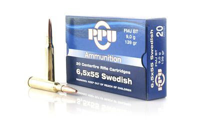 Ppu 6.5x55 Swedish Fmj 139 Grain Weight 20-500
