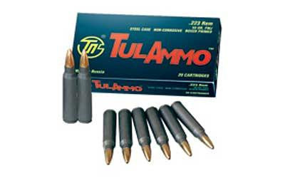 Tula 223rem 55 Grain Weight Fmj 100-1000