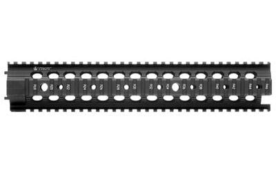 "Troy 12"" Mrf-r Btl Rail Black"
