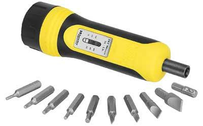 Wheeler Fat Torque Wrench W-10 Bits