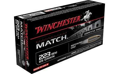 Win Match 223rem 69 Grain Weight Bthp 20-200