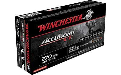 Win Accubond Ct 270wsm 140 Grain Weight 20-200