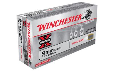 Win Sprx Winclean 9mm 147 Grain Weight 50-500