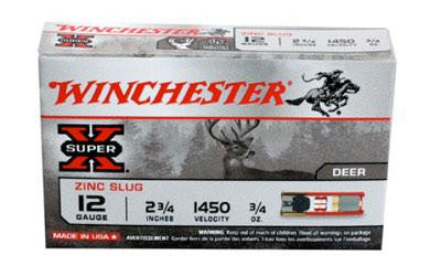 "Win Sprx 12ga 2.75"" 1oz Lf Rifled 5-"
