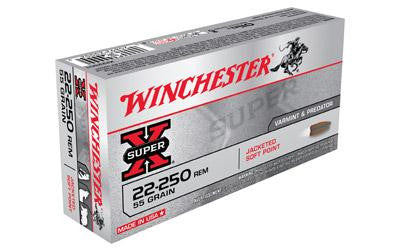 Win Sprx 22-250 55 Grain Weight Jsp 20-200