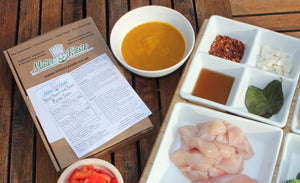 Latest great review of our spicy, sweet and sour mango sauce