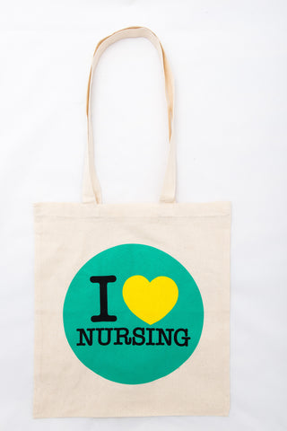 I heart nursing bag