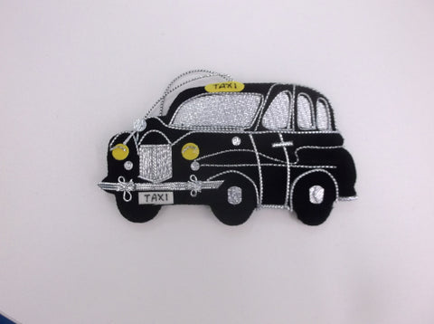 Xmas bauble - London Cab