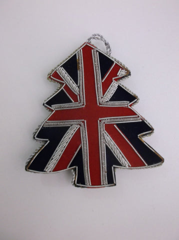 Xmas bauble - Union Jack Tree