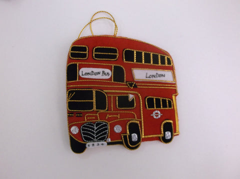 Xmas bauble - London Bus