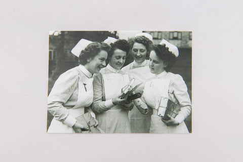 Postcard - Graduating nurses