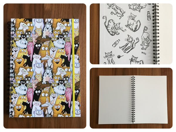 Cuaderno para Cómic - Black Sheep Handmade