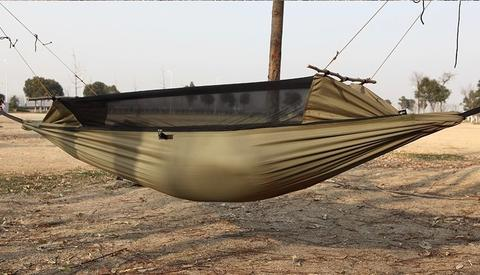 size  240 cm x 120 cm survival hammock water proof tear resistance  u0026 mosquito proof      rh   hobbiesdiscount