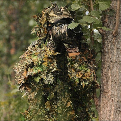 68c08ea8f088a Advanced 3D Camo Tactical Hunting Ghillie Suit – Hobbies Discount
