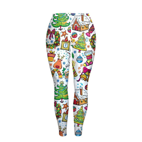 Apparel - 3D Christmas Limited Edition Leggings