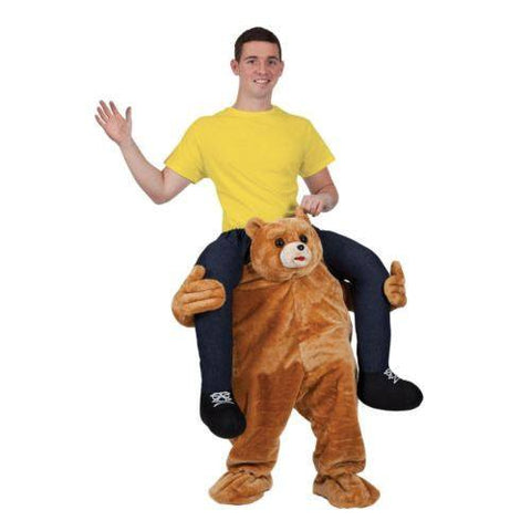 Apparel - Cute Bear Carry Me Ride On Stag Mascot Costume