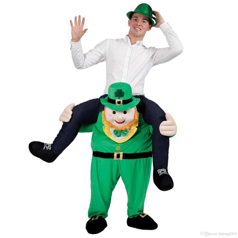 Apparel - Irish Carry Me Ride On Stag Mascot Costume